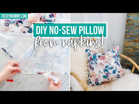 diy-pillow-from-napkins---no-sew!