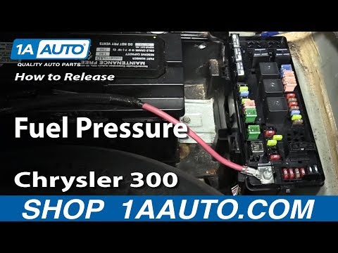 How to Release Fuel Pressure 05-10 Chrysler 300 - YouTubeYouTube