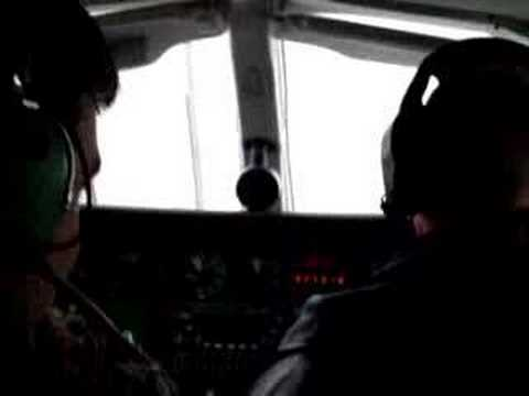 Winter Landing in a Cessna 340