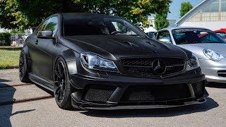 Mercedes Benz C63 AMG Coupe Black Series 2012 Videos