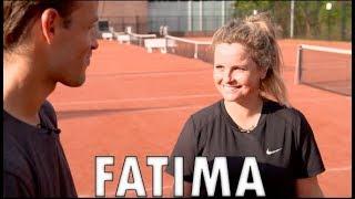 Fatima Moreira De Melo vs Jeroen Hertzberger | Hockey vs Tennis | Hertzberger TV