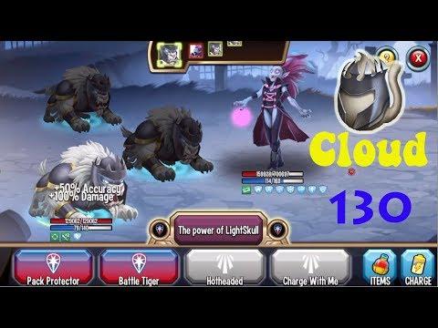 Monster Legends - Cloud level 1-130 review combat - Good Light Monster