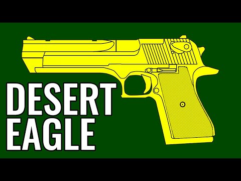 DESERT EAGLE - Comparison In 10 Random Video Games