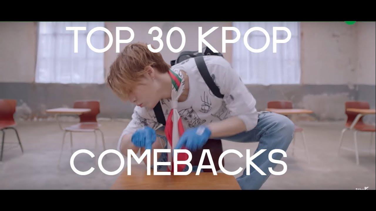 kpop comebacks