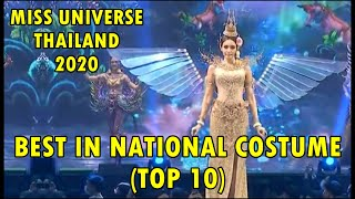 Miss Universe Thailand 2020   Best in National Costume (TOP 10)