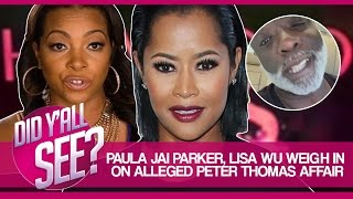 Paula Jai Parker & Lisa Wu Weigh In On Alleged Peter Thomas Affair