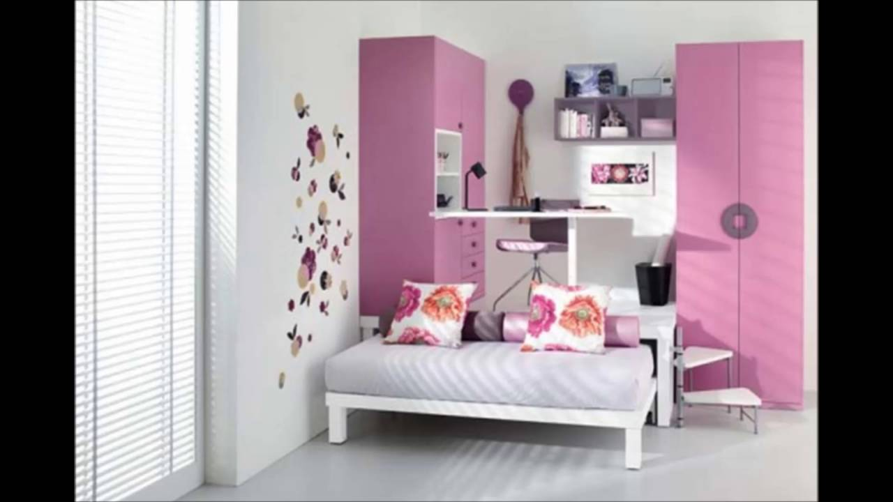 Teenage Bedroom Design Converge With Study Room Decorations And ...