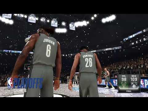 NBA Playoffs 2020 Bucks Vs Nets Game 6 East Finals Bucks ...