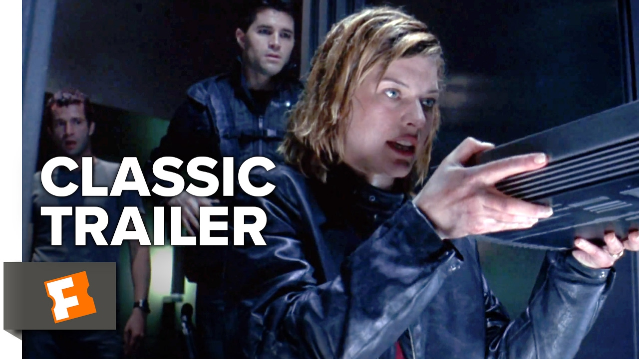 Resident Evil 2002 Official Trailer 1 Milla Jovovich Movie