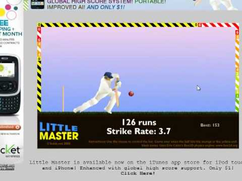 Little Master Cricket 1199 Score