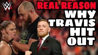 REAL REASONS Why Travis Browne Attacked Security During WWE RAW