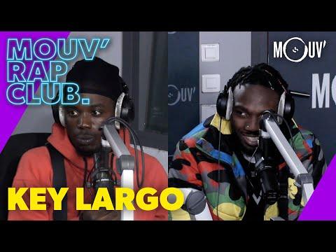 Youtube: KEY LARGO: le 95, la connexion avec 4Keus, les pirates dans le rap…