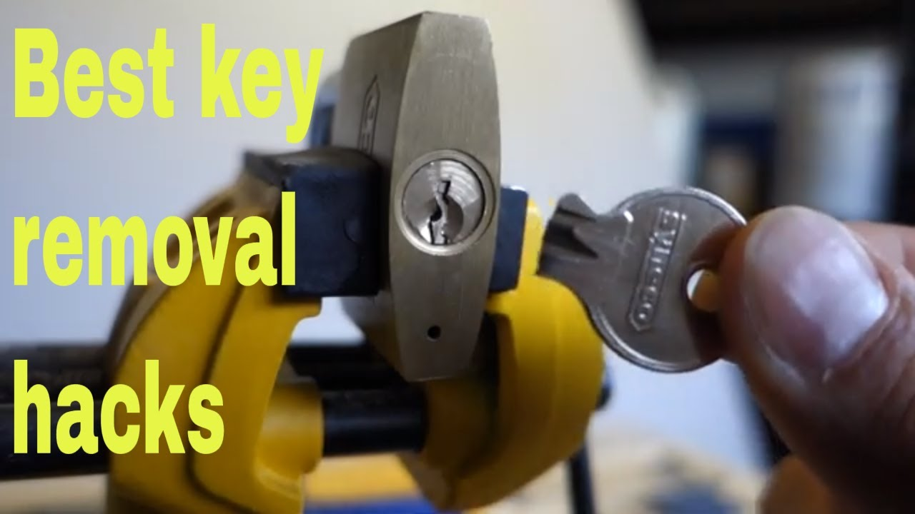 How To Remove Broken Key From Lock >> How To Remove Broken Key From Lock Diy Snapped Key Hacks
