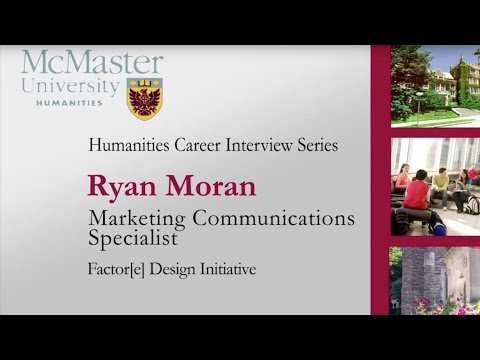 McMaster Humanities Career Interview Series #3: Marketing Communications Specialist