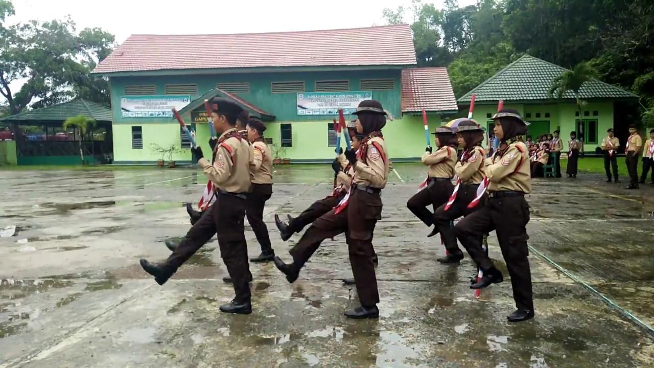 LKBB Tongkat Pramuka SMPN 9 Berau (Mulawarman) #Sawika Camp