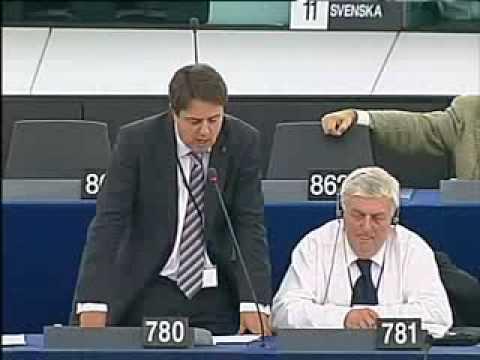 BNP Nick Griffin's speech In The European Parliament