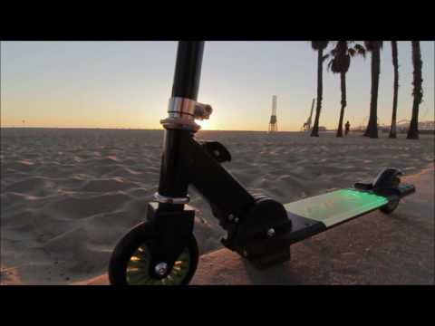 Neon Fusion Scooter by Nixor Sports