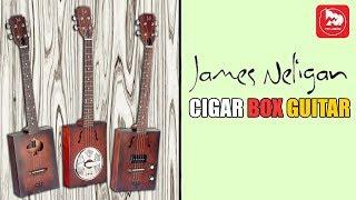 Необычные Сигарбокс гитары J.N CASK (  Cigar Box Guitar )
