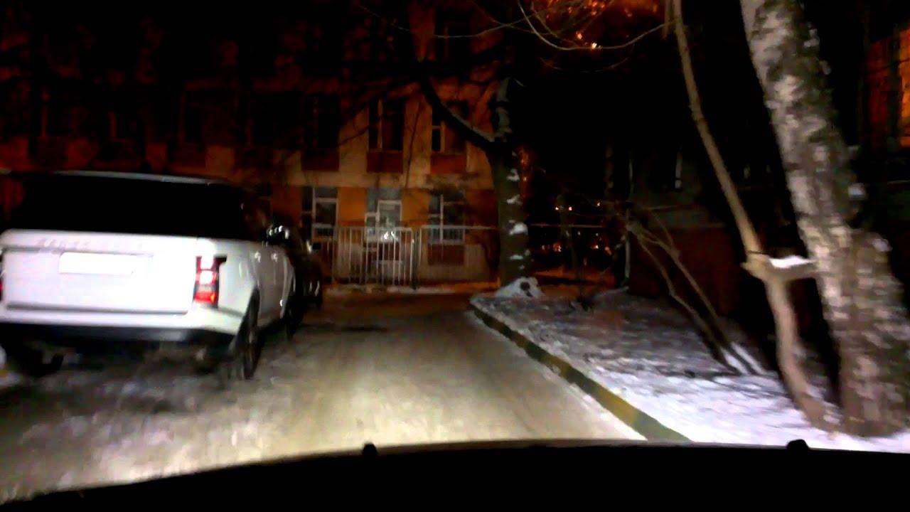 Светодиодные лампы H4 в фары - YouTube