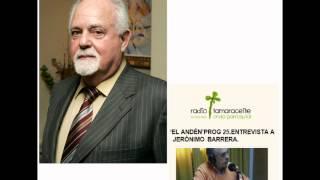 Entrevista a Jerónimo Barrera en El andén - Radio Tamaraceite