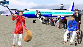 Flight Yatra Comedy Video   Hindi Kahaniya Bedtime Moral Stories Fairy Tales