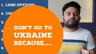 Don't go for MBBS in Ukraine | 6 Drawbacks of MBBS in Ukraine | Russiafeels