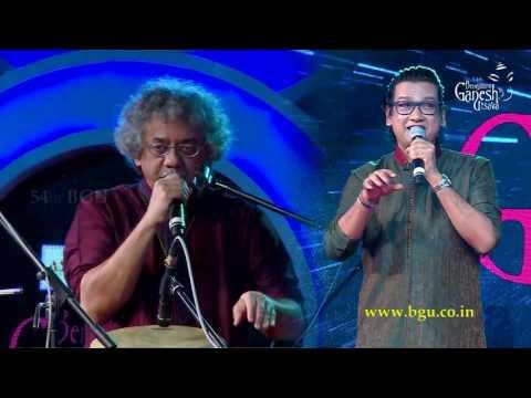 Vijay Prakash & Taufiq Qureshi together jamming @ 54th Bengaluru Ganesh Utsava