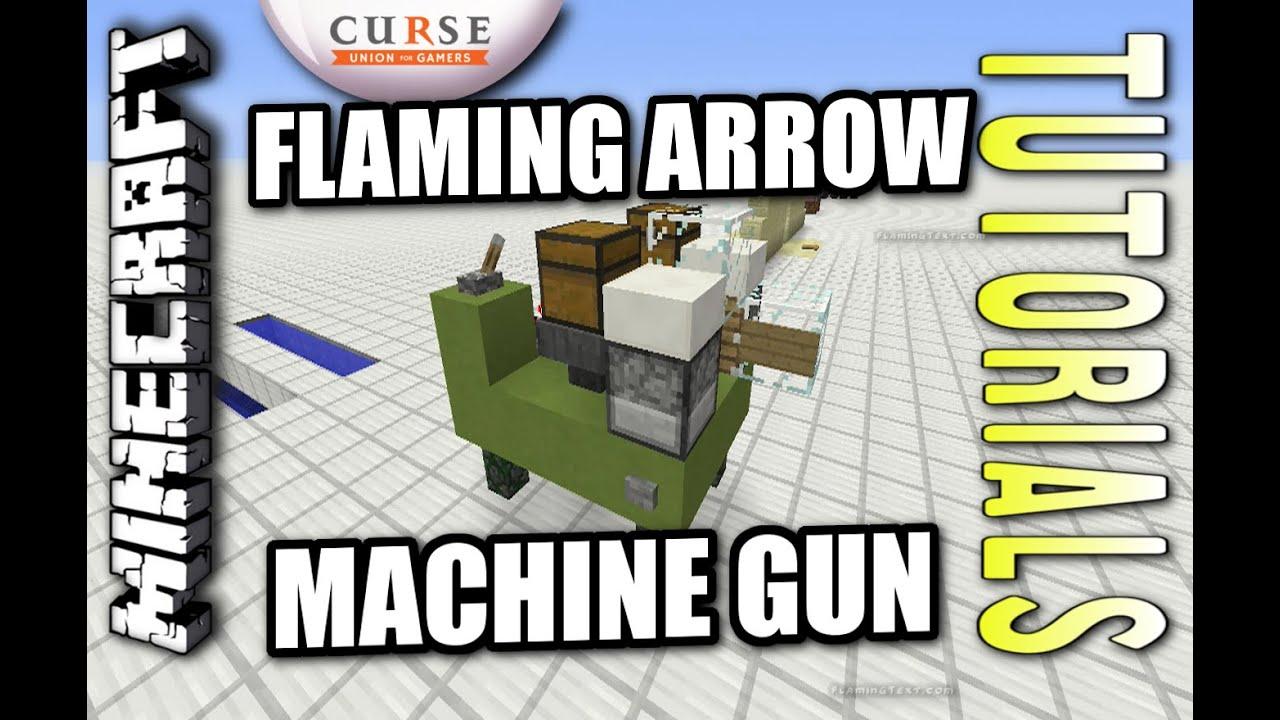 Flaming arrow machine gun tutorial in mcpe 0. 14 | minecraft amino.
