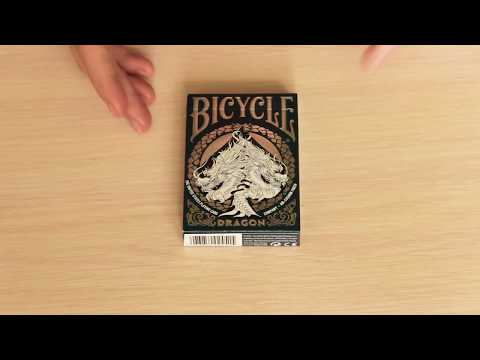 Bicycle Dragon Playing Cards - Deck Review