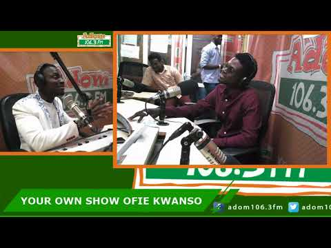 Exclusive interview with Kuami Eugene on Ofie Kwanso (20-6-18)