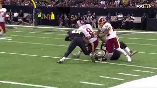 Chris Thompson Ankle Injury Redskins vs Saints