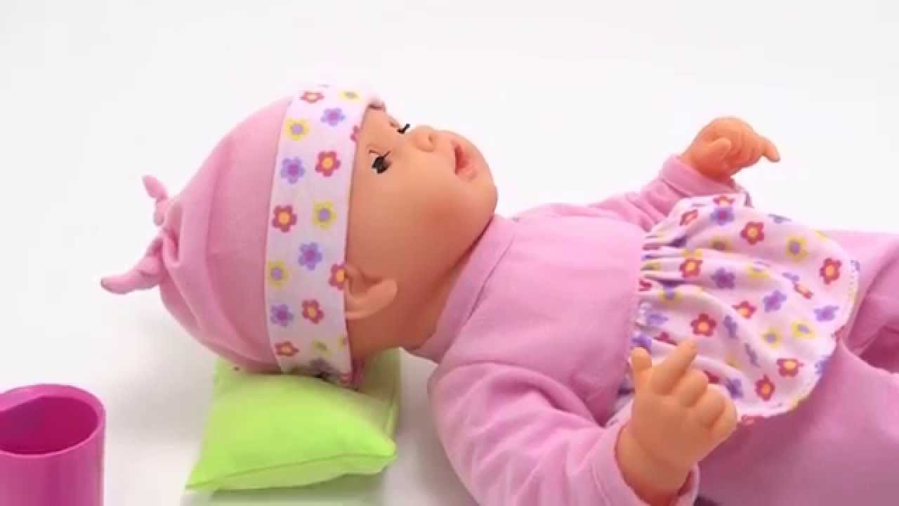 Sweet Dreams Baby Doll Interactive Toy For Girls Sleeping