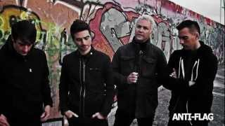 Teaser Video - Toast to Freedom -- Anti-Flag feat. Donots, Ian D