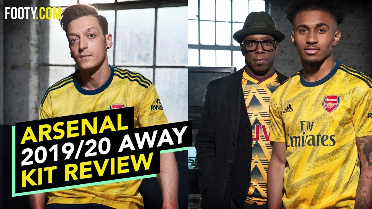 finest selection 3be3c ec8e4 ARSENAL 2019/20 ADIDAS AWAY SHIRT | KIT REVIEW
