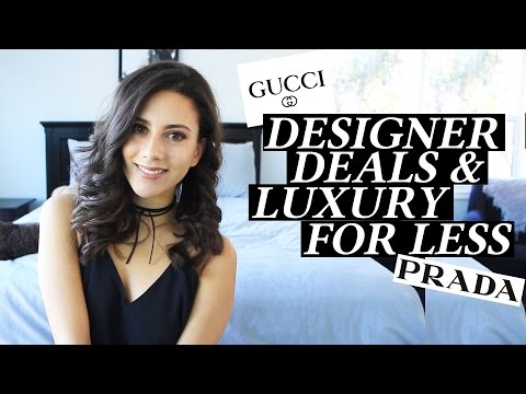 Designer Deals and Luxury for Less My Favorite Places to get Discounts on High End Pieces