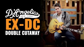 D'Angelico EX-DC Double Cutaway SEMI-Hollowbody