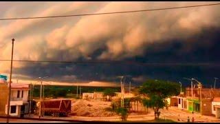 Lambayeque: torrenciales lluvias dejan sin electricidad varias localidades