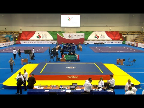 14th World Wushu Championships - Day 2 - Sanda - Women's 60kg, Men's 65/80/90/90+kg 1/8 Finals