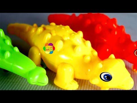 لعبة هجوم الديناصورات الجديدة والرمل السحرى الحقيقى للاطفال افضل العاب الحيوانات للبنات والاولاد