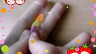 Плетение из резинок. Урок 1