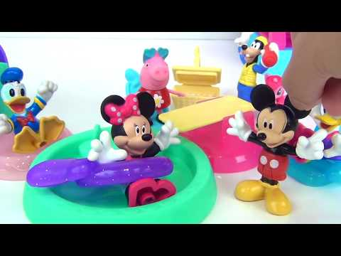 MINNIE MOUSE TOYS COMPILATION, Home Sweet Headquarters HQ, Deluxe Baking Set, Jet Plane Playset
