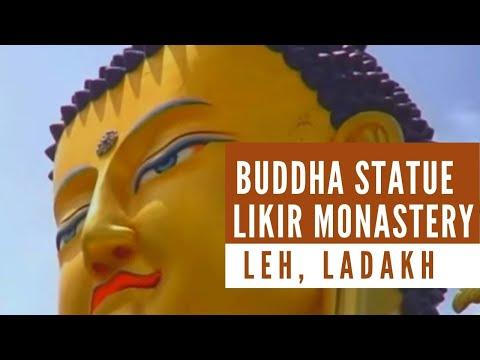 Buddha statue in Likir Monastery, Leh, Ladakh