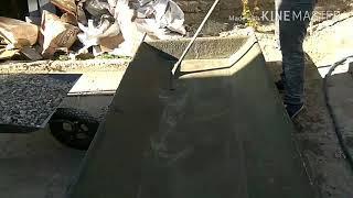 видео Бетонный фундамент под железную печь