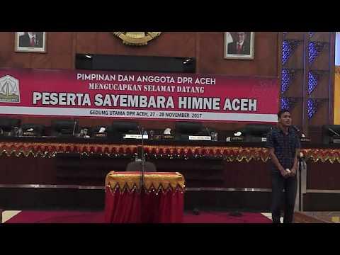 PART 1 - PRESENTASI SAYEMBARA HIMNE ACEH (Senin-27/11/2017)