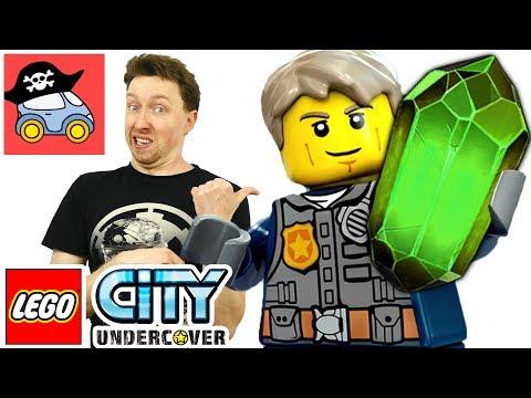 🚓  Lego City Undercover прохождение #13 КАНАЛИЗАЦИЯ Лего Сити игра для детей Жестянка новые серии