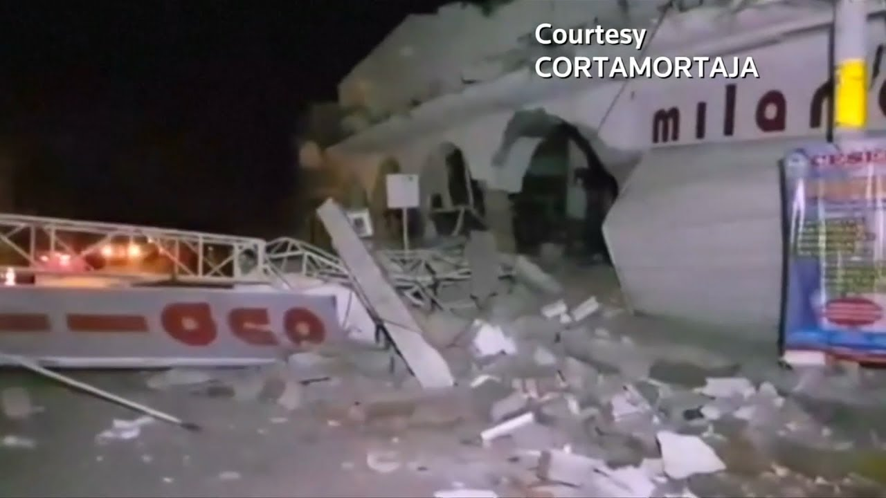 Mexico earthquake kills at least 58