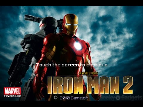 IRON MEN 2( Game By Gameloft ) / IPHONE/ IOS /  2016 GAMEPLAY VIDEO