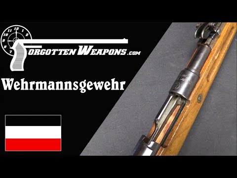 Wehrmannsgewehr - German Shooting Competition After WW1