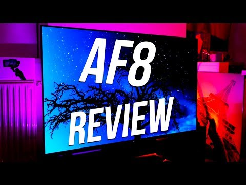 Sony Bravia AF8 / A8F Review - The BEST OLED 4K HDR TV 2018 !