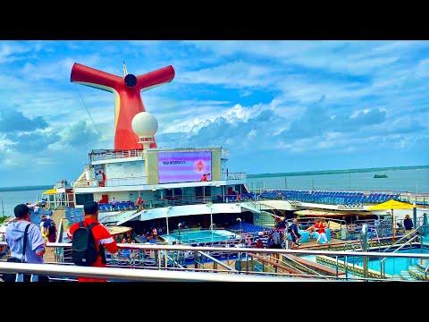 Carnival Liberty Quick Ship Tour!   Travel Agent Tour   Public Spaces, Staterooms, & More!